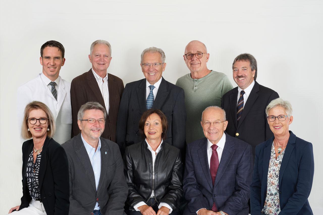 Vorstand der Freunde des Krankenhauses Freilassing e.V.
